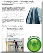 commercial cleaning brochure